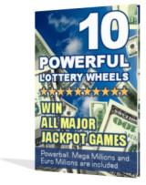 10 Powerful Lottery Wheels - free ebook